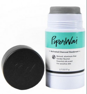 PiperWai Activated Charcoal Deodorant Stick