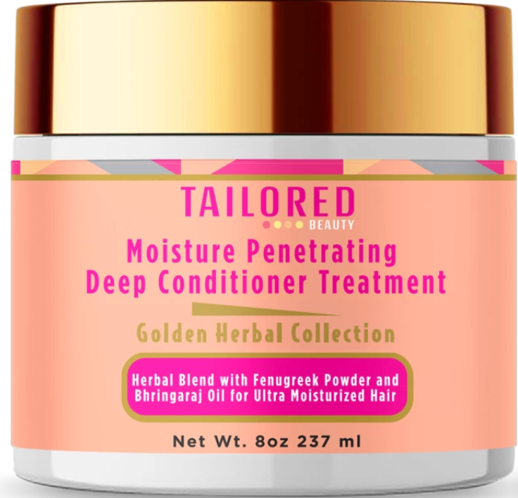 Tailored Beauty Herbal Moisture Deep Conditioner Treatment