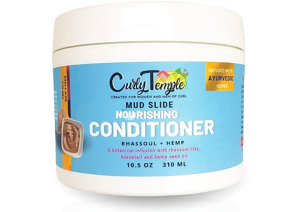 Curly Temple Nourishing Mud Slide Conditioner Mask