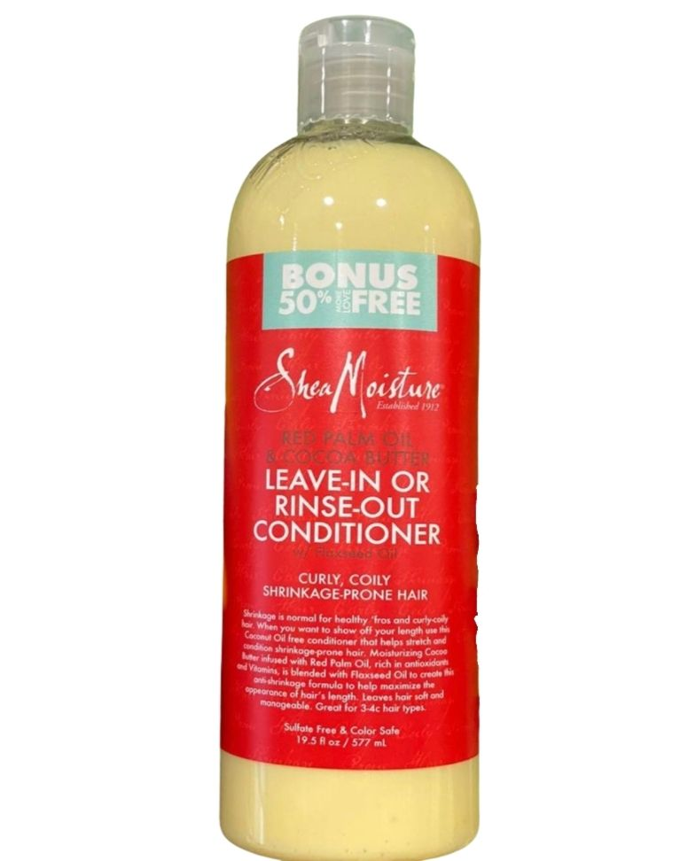 Shea Moisture Red Palm Oil Leave-in/Rinse out Conditioner