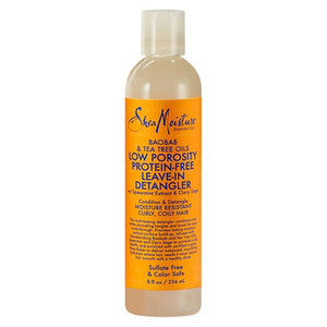 SheaMoisture Boab & Tea Tree Oils Low Porosity Protein Free Leave-In Detangler