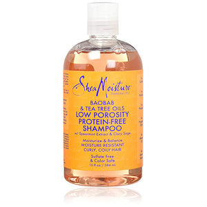 SheaMoisture Boab & Tea Tree Oils Low Porosity Protein Free Shampoo