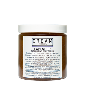 Cream Blends Lavender Body Scrub