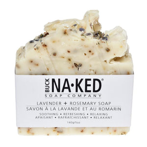 Buck Naked Soap Company - Lavender & Rosemary Soap