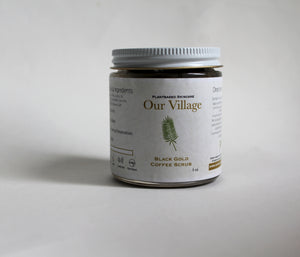 Our Village Black Gold Coffee Scrub