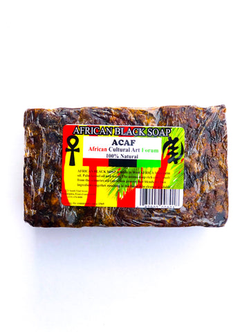 ACAF Black Soap Bar