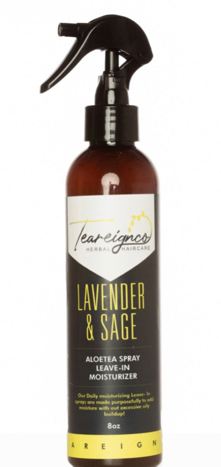 Teareign Lavender & Sage Daily Leave In Enhancing Spray