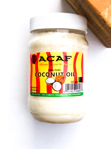 ACAF 100% Pure Unrefined Coconut Oil