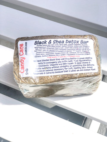Zuresh Black & Shea Detox Soap Bar