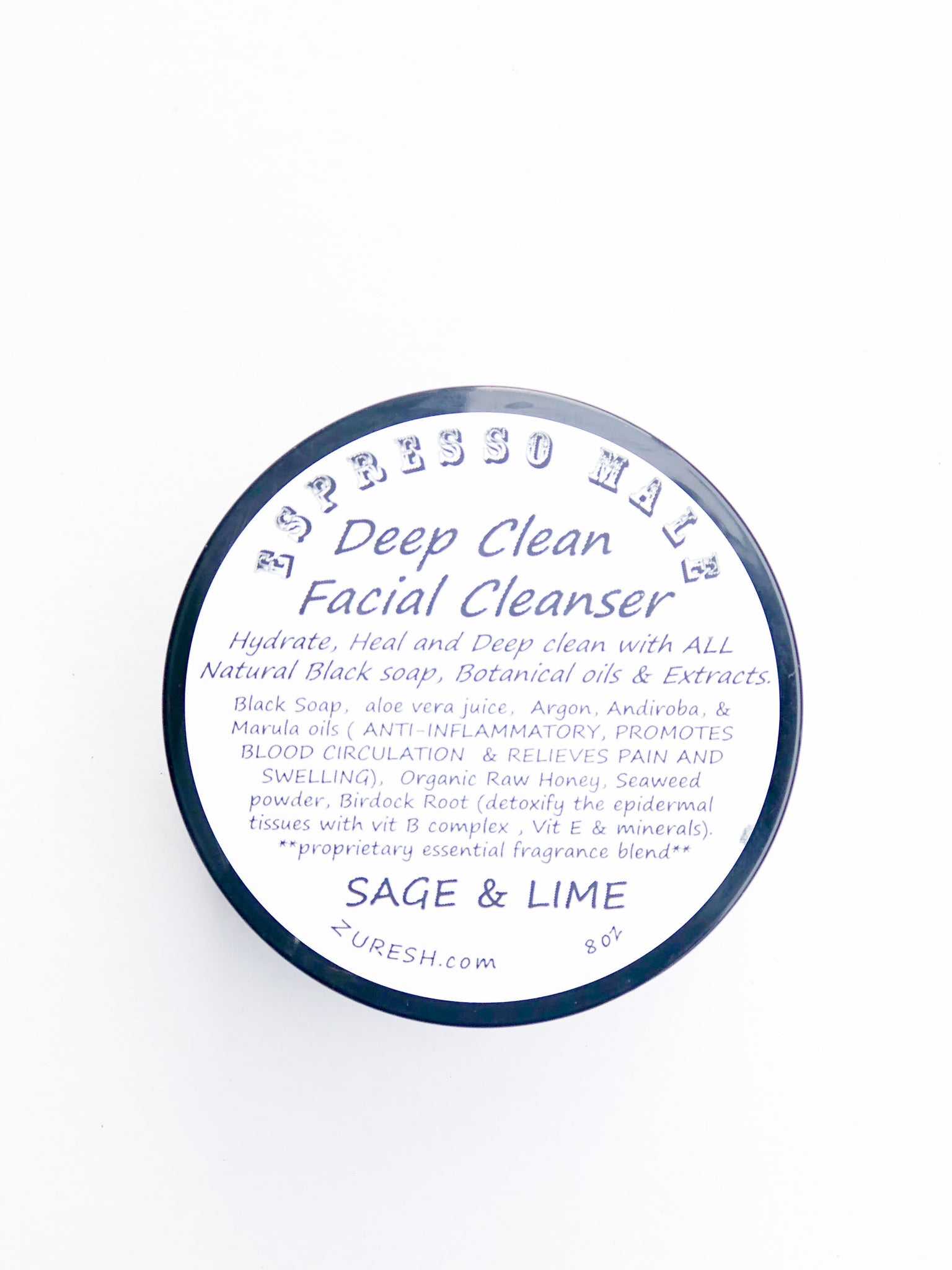 Zuresh Men's Deep Clean Facial Cleanser