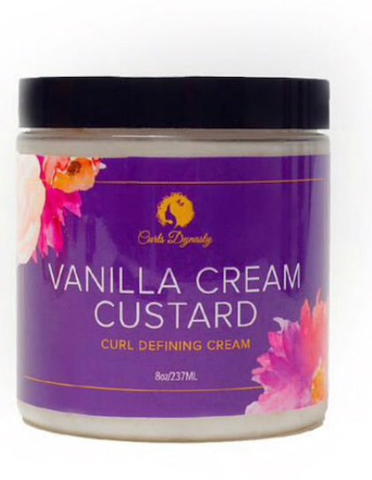 Curls Dynasty Vanilla Cream Custard Curl Defining Cream