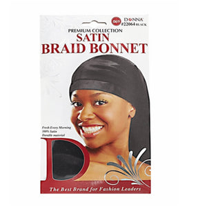Donna Braid Satin Bonnet
