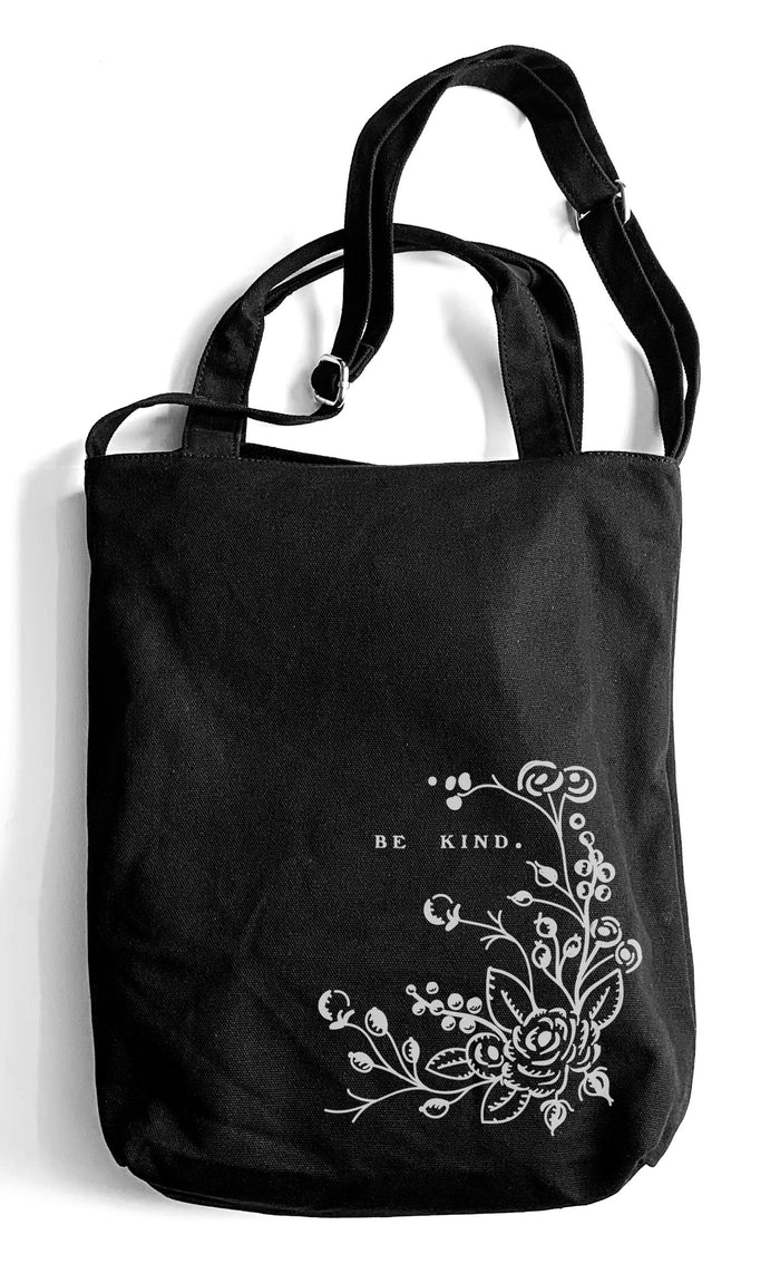 Heavy Cotton Canvas Carryall Tote Bag