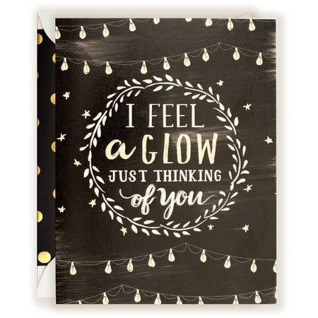 I Feel A Glow Card - The First Snow