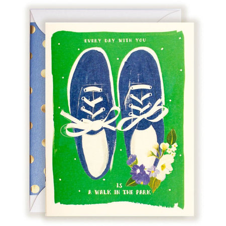 Everyday With You is a Walk in the Park card - The First Snow