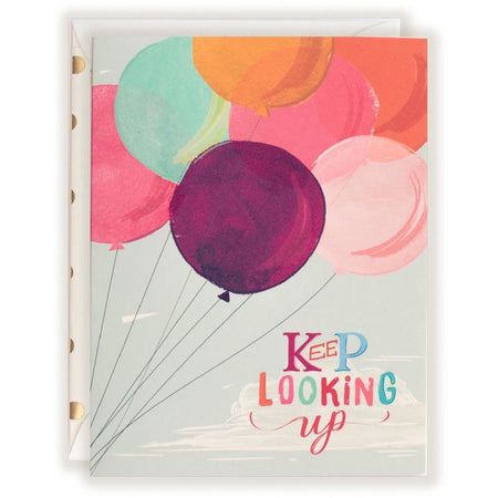 Keep Looking Up Card - The First Snow