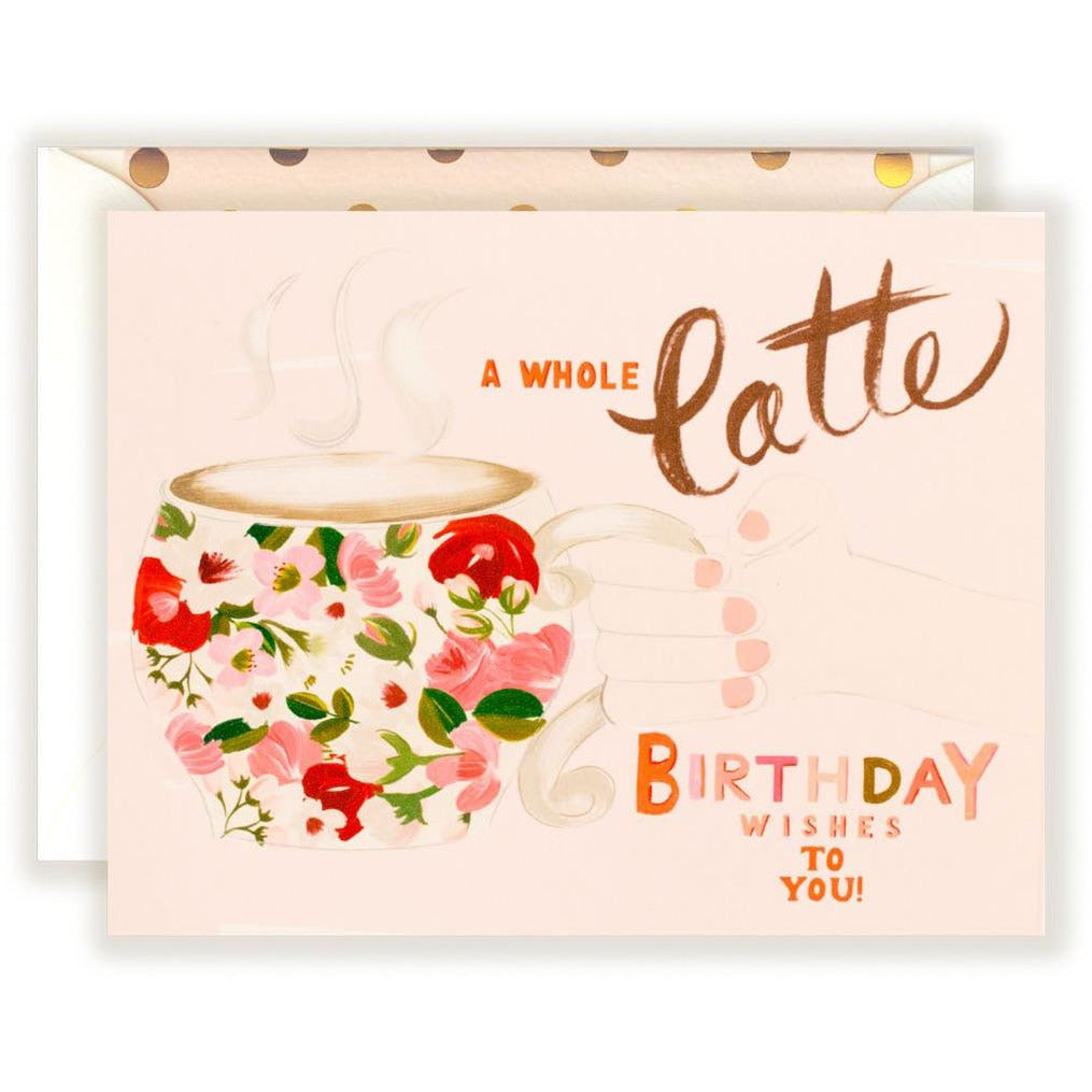 A whole Latte Birthday wishes to You! - The First Snow