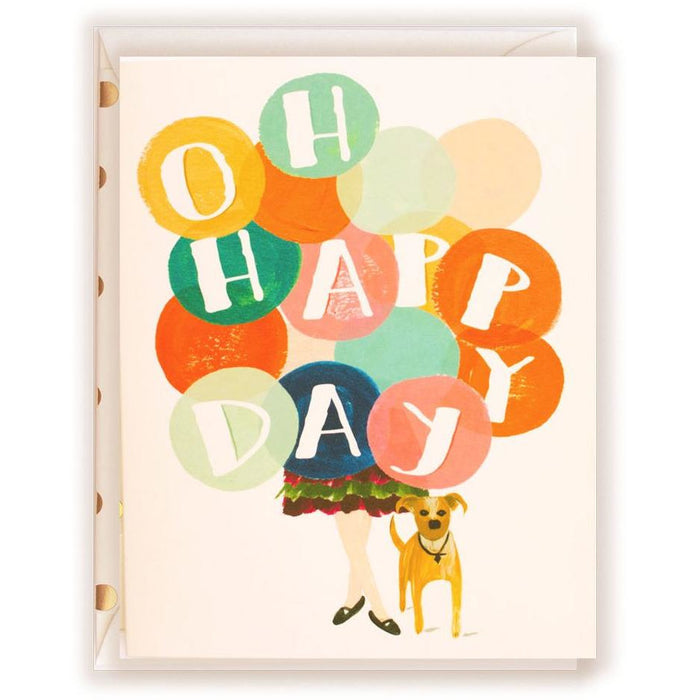 Oh Happy Day Greeting Card - The First Snow