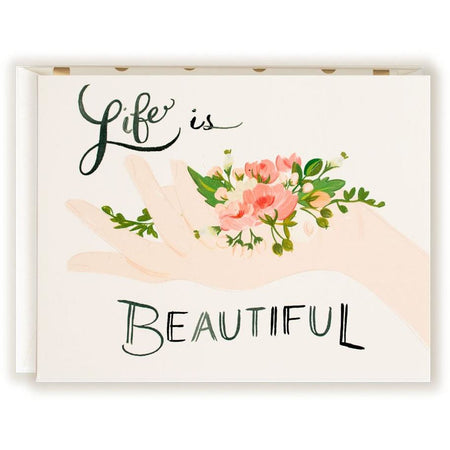 Life is Beautiful Card - The First Snow