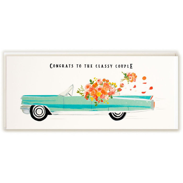 Congrats Classy Couple Card - The First Snow