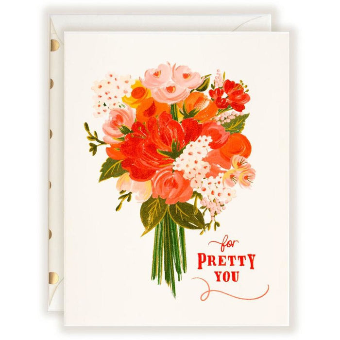 For Pretty You Card - The First Snow