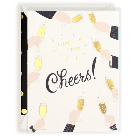 """Cheers!"" Multipurpose Versatile Well-Wishing Card for Different Occasions - The First Snow"