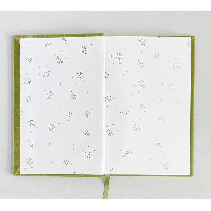 Romantic Couple The Writer Silk Velvet Journal - The First Snow