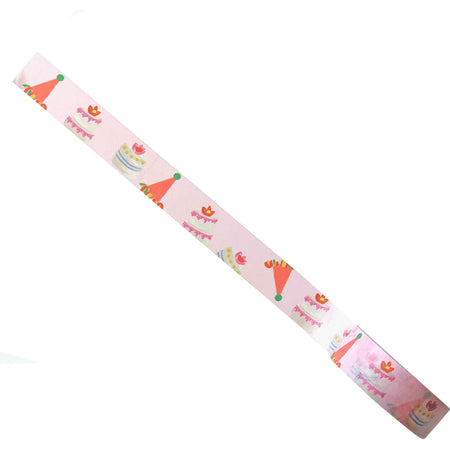 Birthday Hats Printed Graphic Washi Tape for Decorating Things - The First Snow