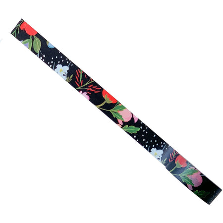 Pretty Washi Tape Covered with Colorful Florals of Different Types - The First Snow