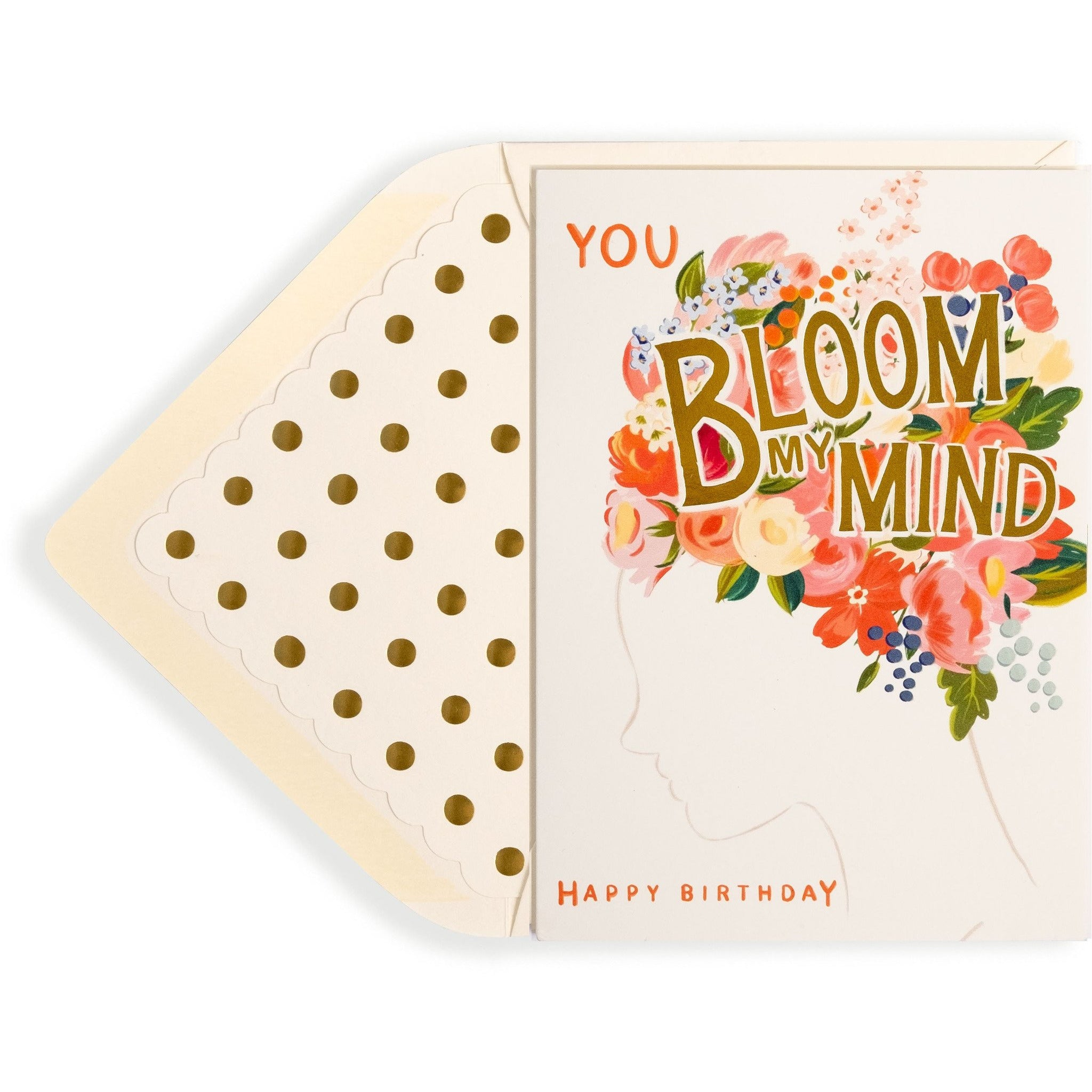 You Bloom My Mind Birthday Card - The First Snow