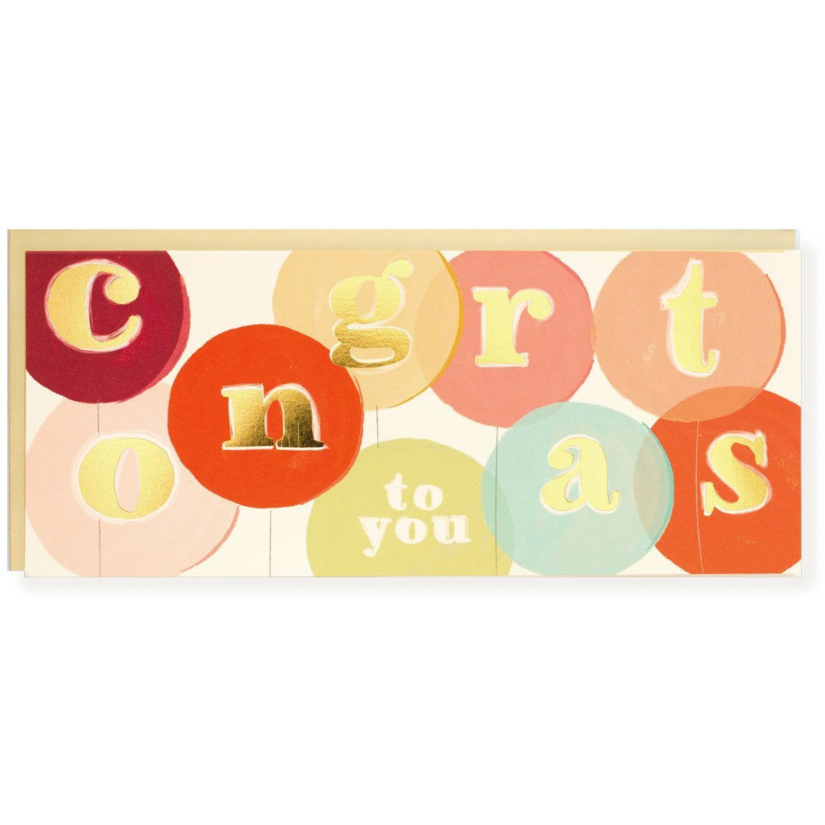 Congrats To You Card - The First Snow