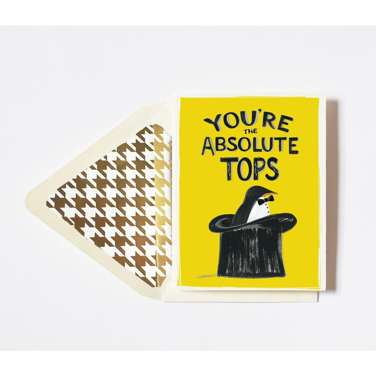 You're the Absolute Tops Card - The First Snow