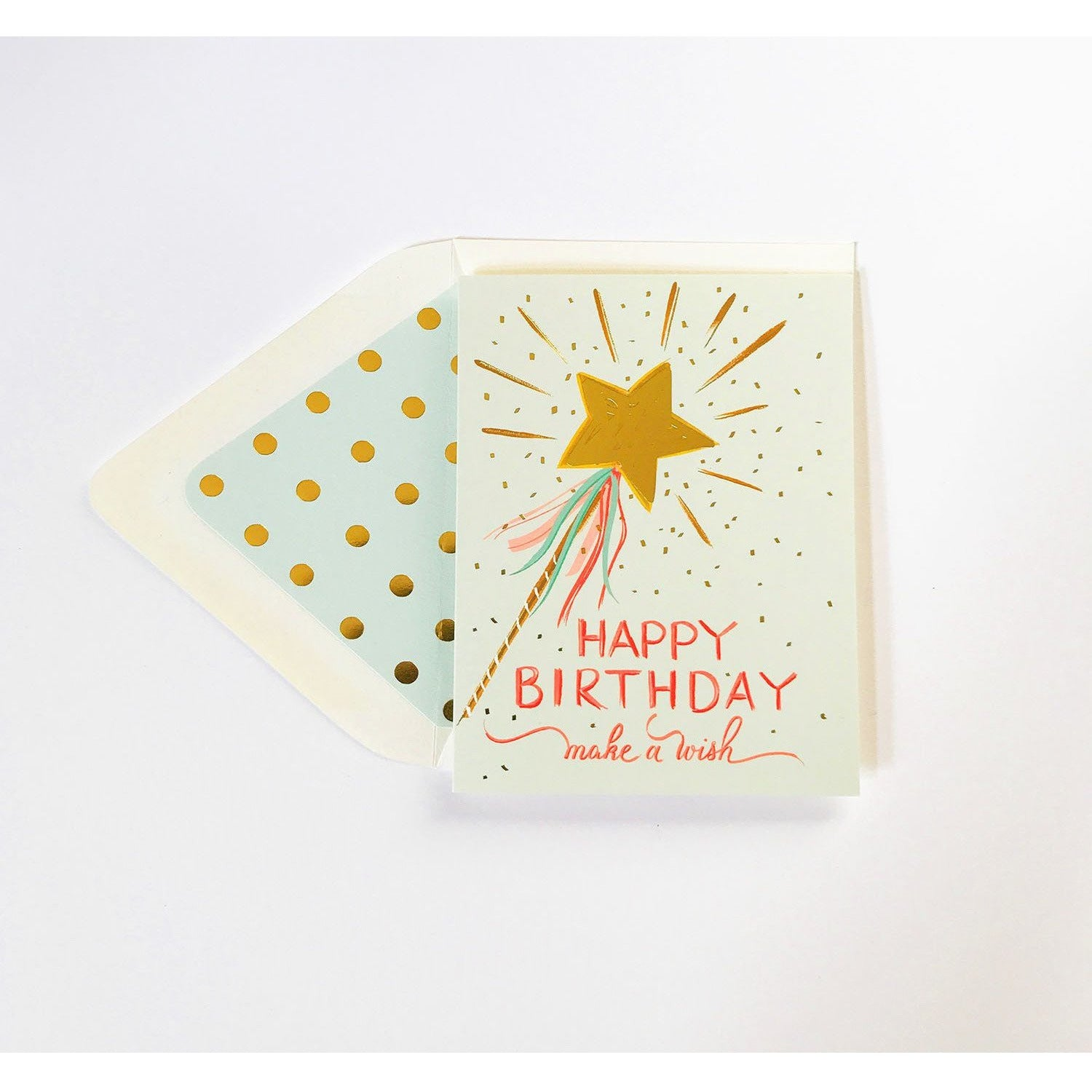 Make a Wish Birthday Card - The First Snow