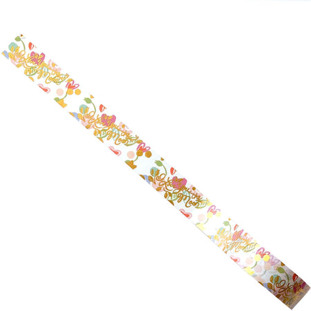 "Romantic ""Love You to the Moon"" Washi Tape for Presents and Packages - The First Snow"