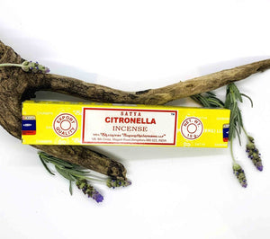 Satya Citronella Incense Sticks