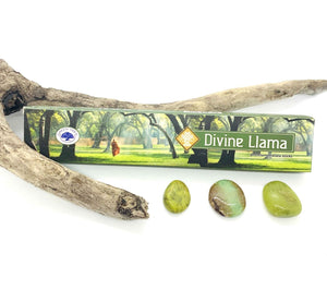 Green Tree Divine Llama Incense Sticks