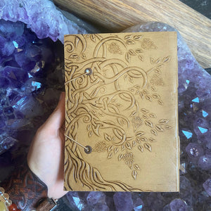 Leather Tree journal
