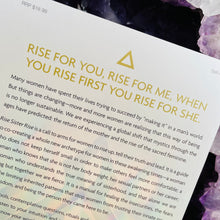 Load image into Gallery viewer, Rise Sister Rise - A guide to unleashing the wise wild woman within