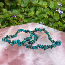 Load image into Gallery viewer, Chrysocolla Chip Bracelet