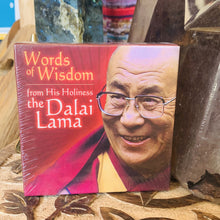 Load image into Gallery viewer, Words of a Wisdom Dalai Lama