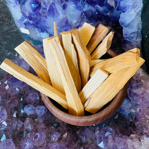 Raw Palo Santo Sticks