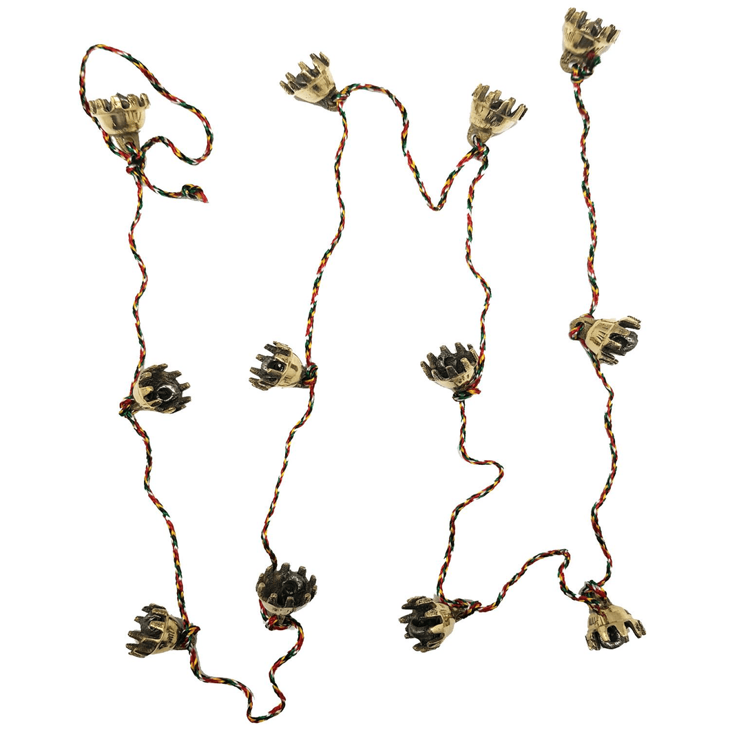 100cm Long Claw Bells on String