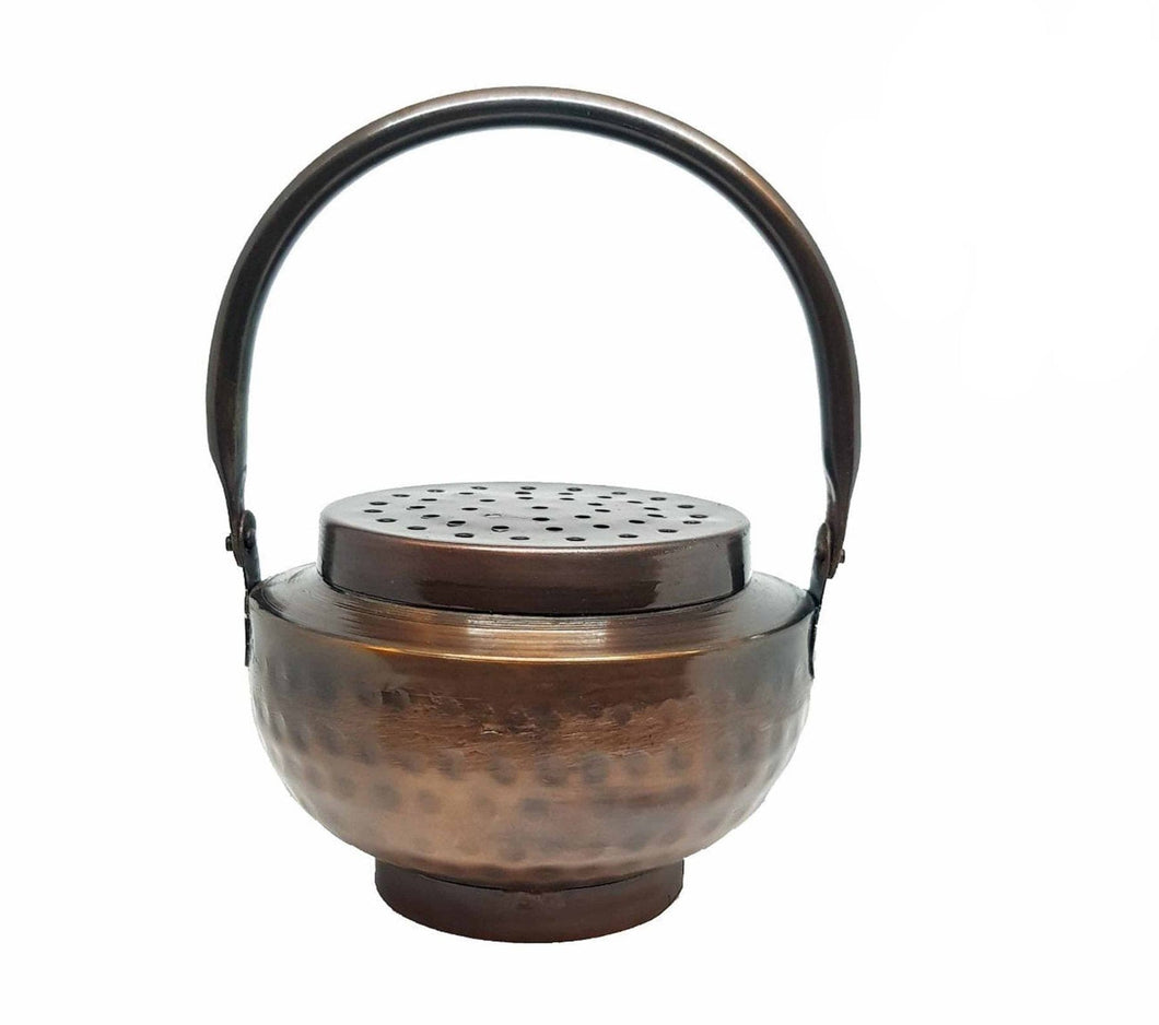 Iron Charcoal Burner with Grill ~ Incense Holder