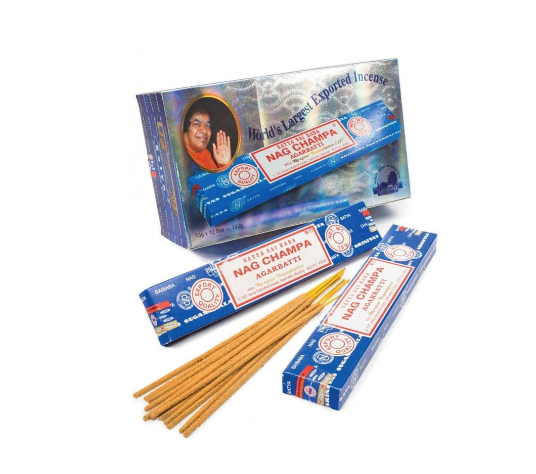 Satya Nag Champa Incense Sticks BULK BUY