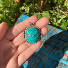 Load image into Gallery viewer, Tibetan Silver Pendant
