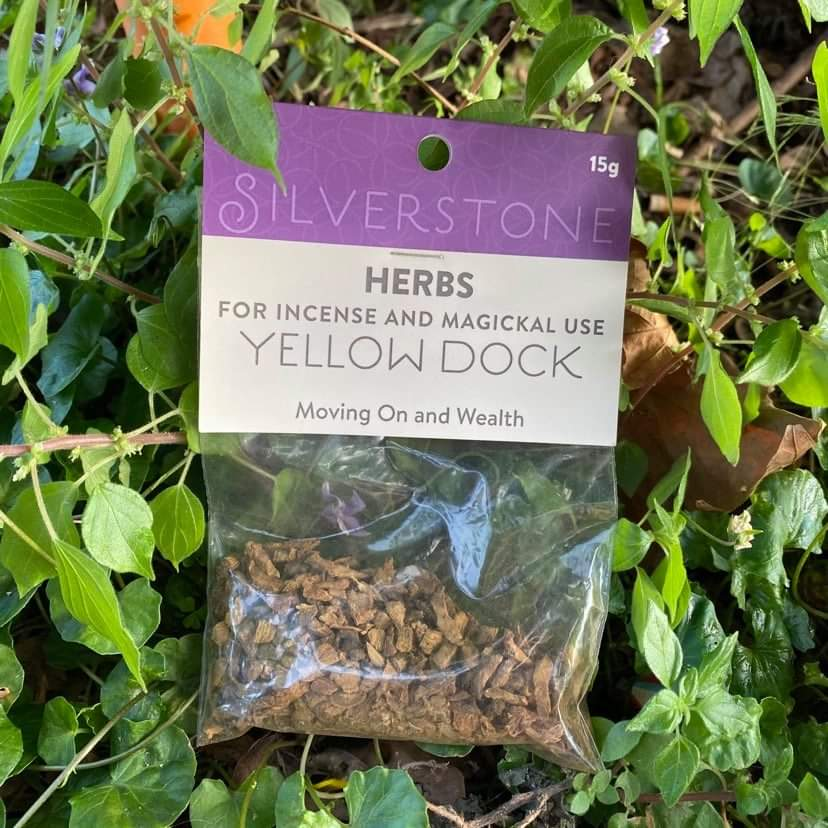 Yellow dock ~ dried herbs ~ spells ~ teas
