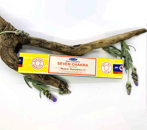 Satya Seven Chakra Incense Sticks