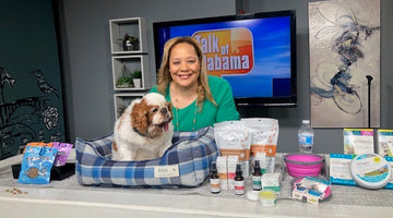 Paws Effects Products Reviewed on ABC Talk of Alabama by Charlotte Reed @petrendologist