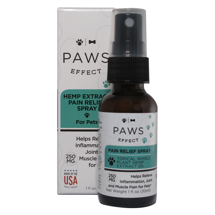 Paws Effect Nutrition Topical Pain and Anxiety Relief, 250mg CBD with Aloe, 1oz.