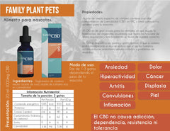 (For Pets) CBD para Mascotas Family 20ml